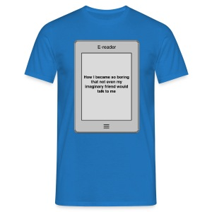 E-book title t-shirt - Boring - Men's T-Shirt