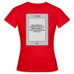 E-book title t-shirt - Beautiful - Women's T-Shirt