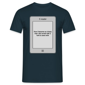 E-book title t-shirt - Cheap - Men's T-Shirt