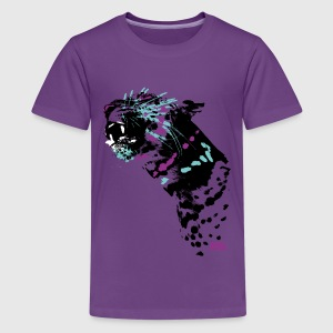 Animal Planet teenage T-shirt leopard - Teenager premium T-shirt