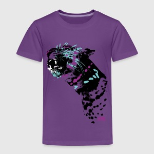 Animal Planet T-skjorte for barn leopard - Premium T-skjorte for barn
