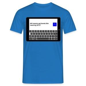 Search t-shirt - Mayans - Men's T-Shirt