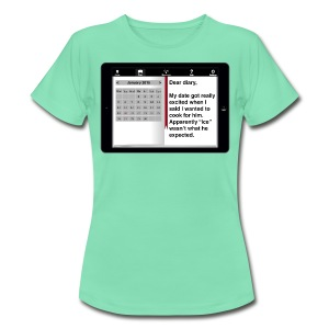 E-diary t-shirt - Cooking - Women's T-Shirt