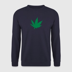 feuille drogue cannabis 2808 Sweat-shirts - Sweat-shirt Homme