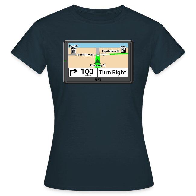 Political GPS t-shirt - Capitalism
