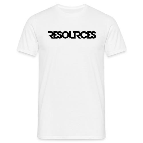 Shirt Logoschrift, mit QR-Code - Männer T-Shirt