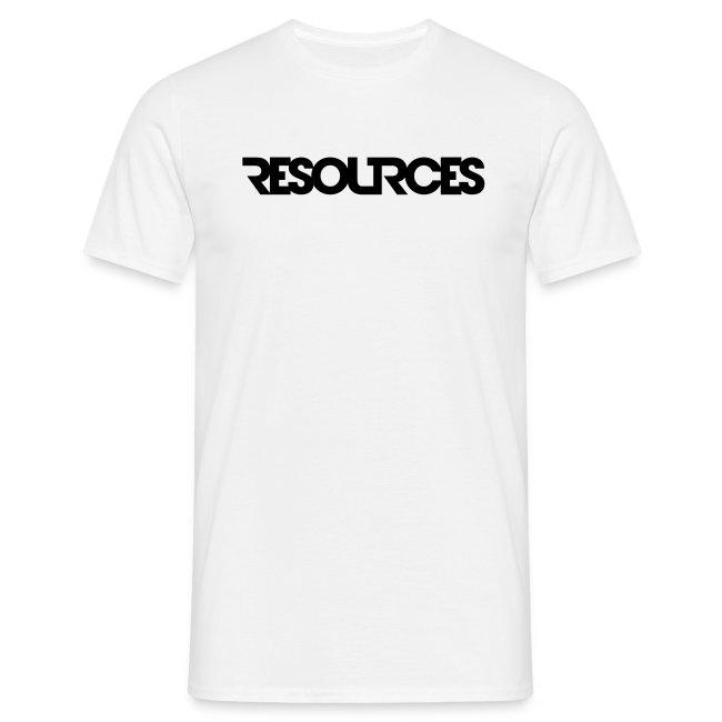 Shirt Logoschrift, mit QR-Code