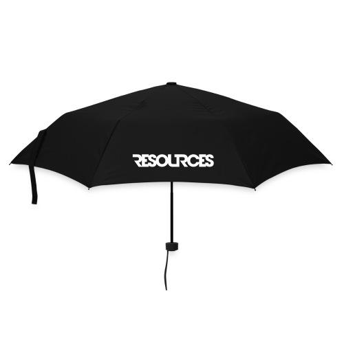 Regenschirm LOGO weiss - Regenschirm (klein)