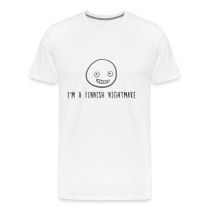 I'm a Finnish nightmare Men's T-Shirt - Men's Premium T-Shirt