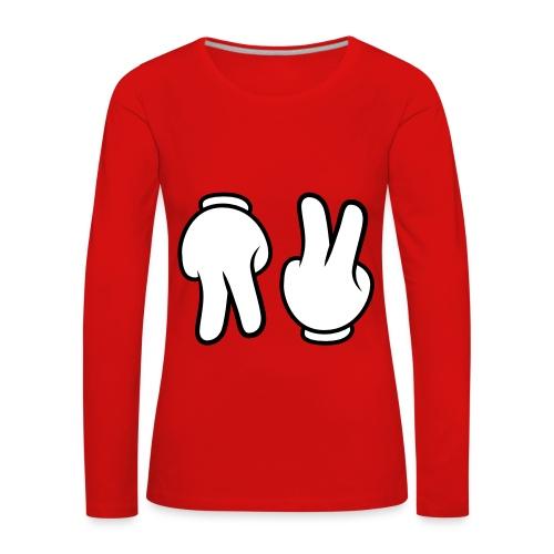 t-shirt - T-shirt manches longues Premium Femme