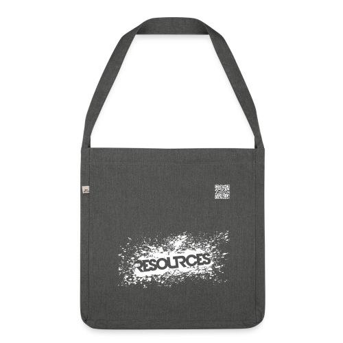 Ökotasche Splash+QR-Code-Mini, div. Farben - Schultertasche aus Recycling-Material