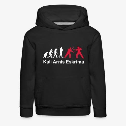 Kali Arnis Eskrima Evolution - Kinder Premium Hoodie