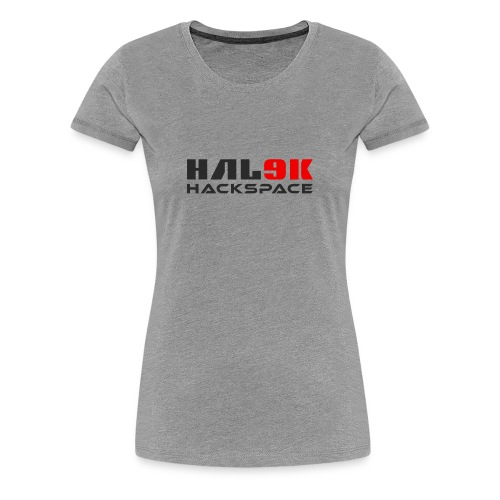 Hackspace dame T-shirt - Dame premium T-shirt