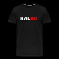 T-shirts ~ Herre premium T-shirt ~ Mørk herre T-shirt, logo