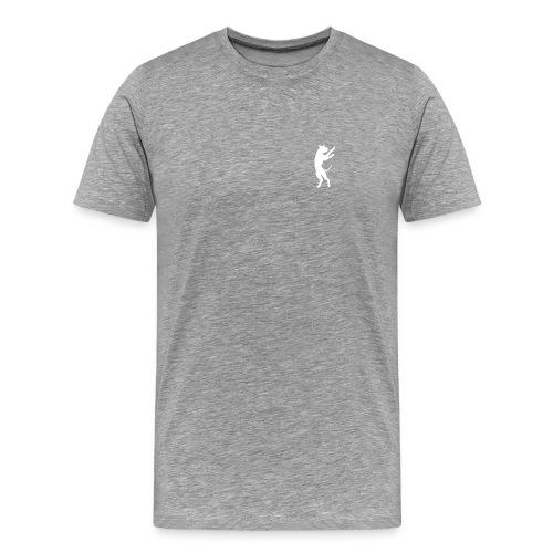 BBoxer Tri Grey Men  - Men's Premium T-Shirt