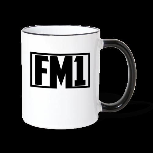 FM1 koppen - Tofarvet krus