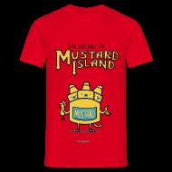 T-Shirts ~ Männer T-Shirt ~ The Secret of Mustard Island