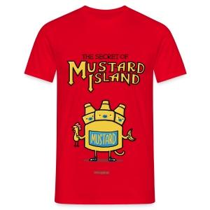 The Secret of Mustard Island - Männer T-Shirt