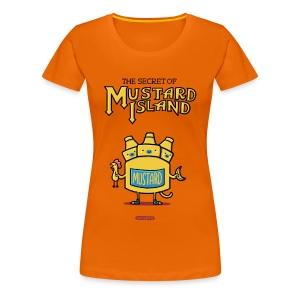 The Secret of Mustard Island - Frauen Premium T-Shirt