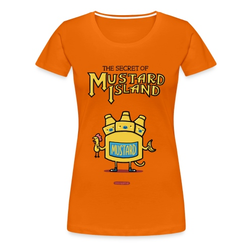 The Secret of Mustard Island - Frauen Premium T-Shirt