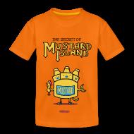 T-Shirts ~ Kinder Premium T-Shirt ~ The Secret of Mustard Island