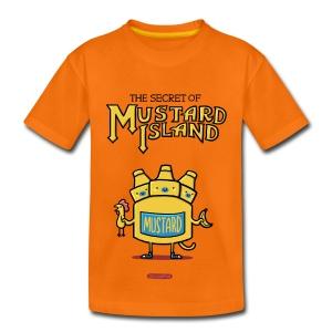 The Secret of Mustard Island - Kinder Premium T-Shirt