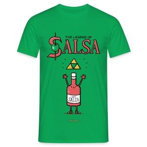 The Legend of Salsa - Männer T-Shirt