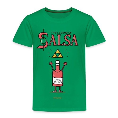 The Legend of Salsa - Kinder Premium T-Shirt