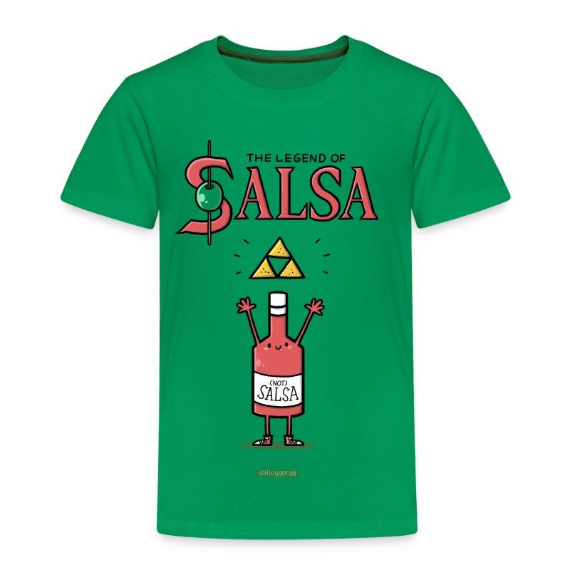The Legend of Salsa - Kinder Premium T-Shirt