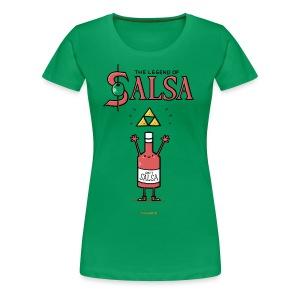 The Legend of Salsa - Frauen Premium T-Shirt