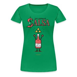 The Legend of Salsa - Frauen Premium T-Shirt