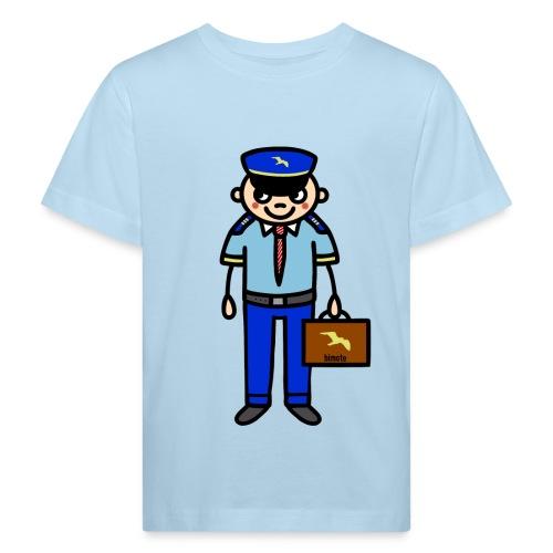 Pilot in Uniform - Kinder Bio-T-Shirt