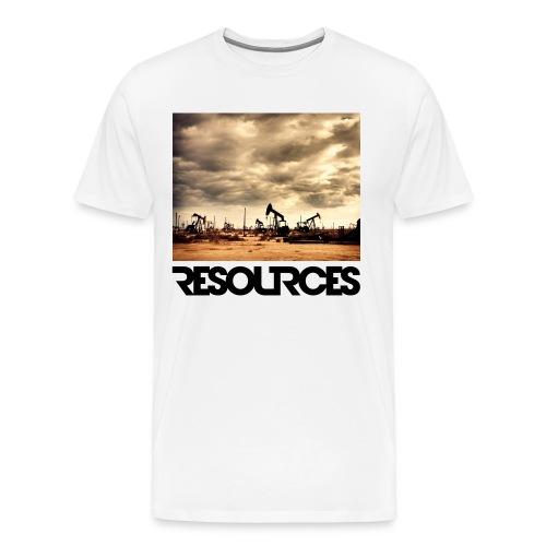 T-Shirt Premium Oil Field+Logo - Männer Premium T-Shirt