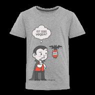 T-Shirts ~ Kinder Premium T-Shirt ~ Veganer Vampir
