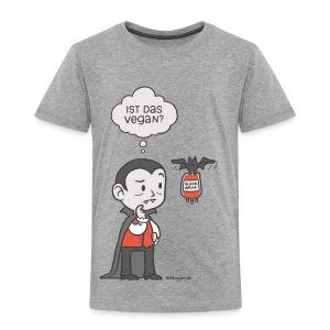Veganer Vampir - Kinder Premium T-Shirt
