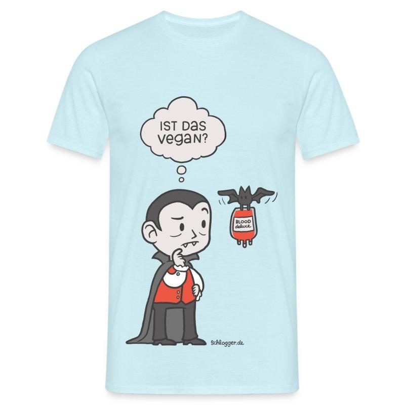 Veganer Vampir - Männer T-Shirt