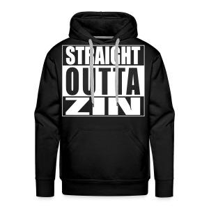 Straight outta zin - Mannen Premium hoodie