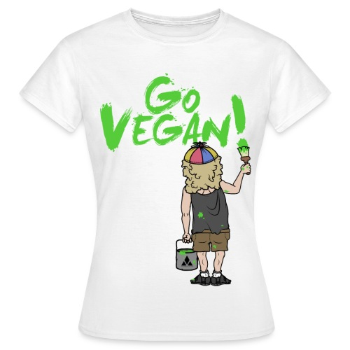 GO VEGAN - Frauen T-Shirt