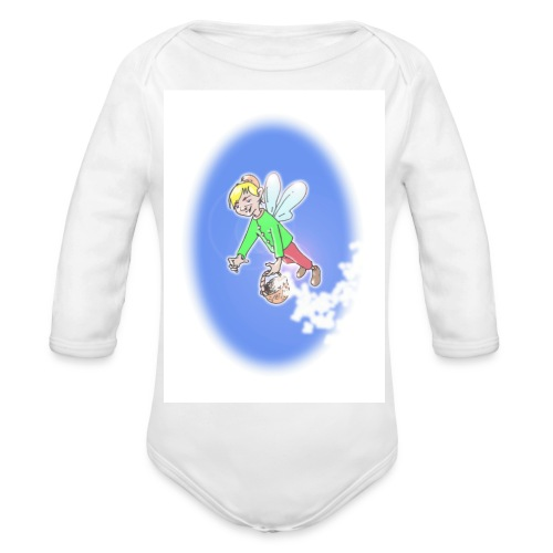 The Flying Elf Baby Bodysuits - Organic Longsleeve Baby Bodysuit