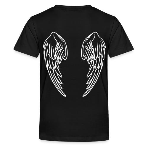 t-shirt avec ailes d'ange au dos  - T-shirt Premium Ado
