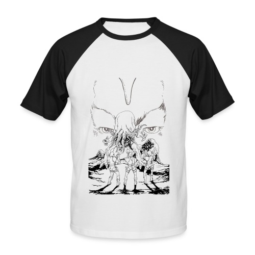 Man Black&White T-Shirt - Men's Baseball T-Shirt
