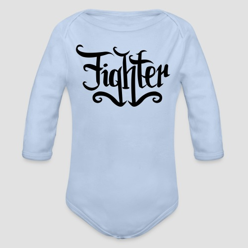 FIGHTER  - Baby Bio-Langarm-Body