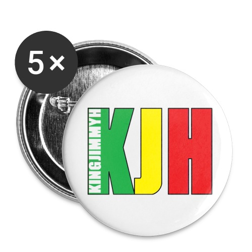 KINGJIMMYH - Buttons 32 mm - Buttons medium 1.26/32 mm (5-pack)