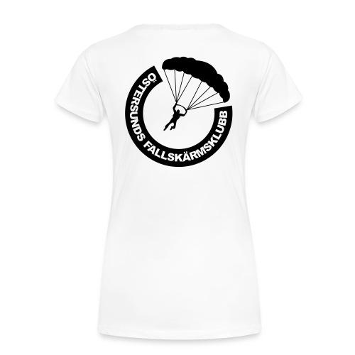 ÖFSK T-shirt DAM Svart tryck - Premium-T-shirt dam