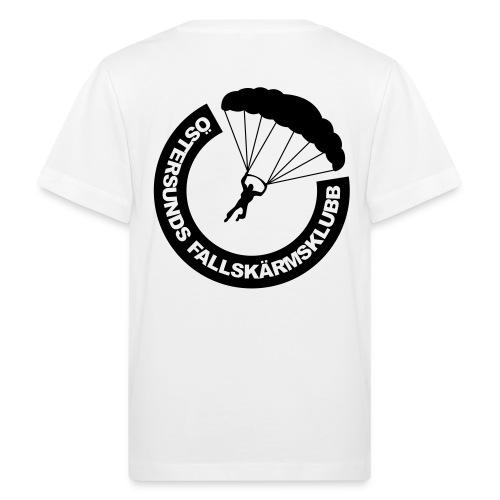 ÖFSK T-shirt BARN Svart tryck - Ekologisk T-shirt barn
