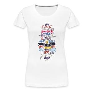 Home womens shirt - Women's Premium T-Shirt