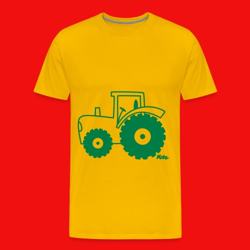 traktor t shirt  - Premium T-skjorte for menn