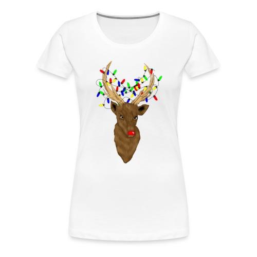 Stag Rudolph Womens shirt - Women's Premium T-Shirt