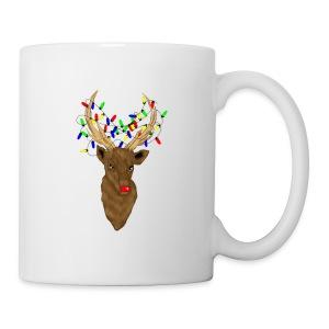 Stag Rudolph Mens mug - Mug
