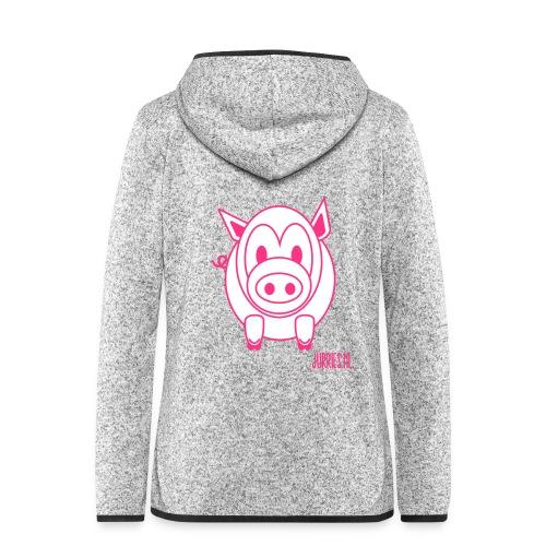 Damesvest Knorre - Vrouwen hoodie fleecejack